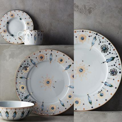 New Anthropologie * dinner plate 1 or 2 piece set