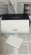PRADA SAFFIANO LUX Leather Card Holders