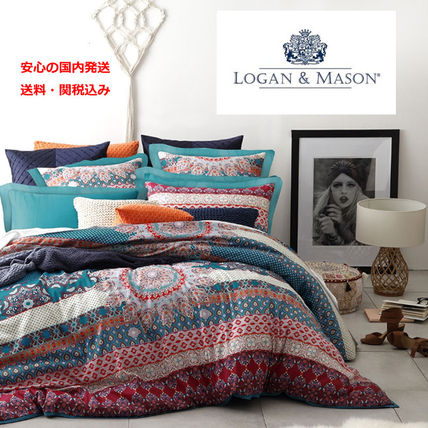 Logan & Mason Duvet Covers Pillowcases Comforter Covers Ethnic