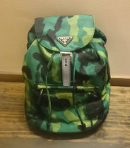 PRADA Camouflage Nylon Backpacks