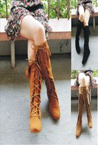 Minnetonka Suede Over-the-Knee Boots