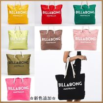Billabong Casual Style Canvas A4 Plain Oversized Totes