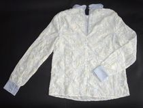 Manoush Flower Patterns Long Sleeves Cotton Medium With Jewels