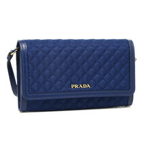 PRADA Nylon Plain Long Wallets