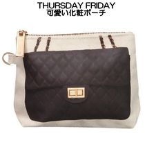 Thursday Friday Canvas Street Style Pouches & Cosmetic Bags
