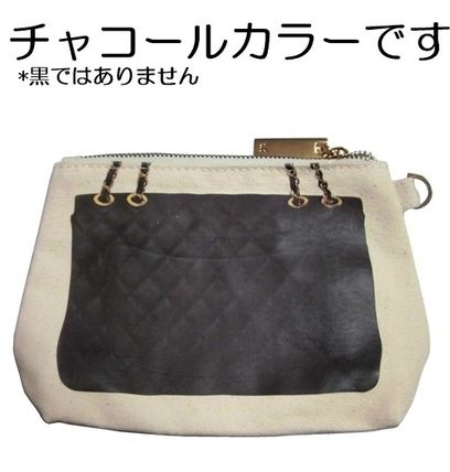 Canvas Street Style Pouches & Cosmetic Bags