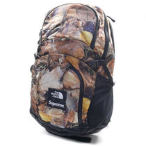 Supreme Camouflage Street Style Collaboration A4 Backpacks