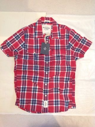 Abercrombie & Fitch Shirts Tartan Other Plaid Patterns Street Style Cotton