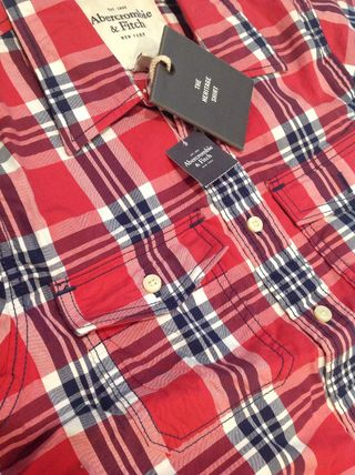 Abercrombie & Fitch Shirts Tartan Other Plaid Patterns Street Style Cotton 2
