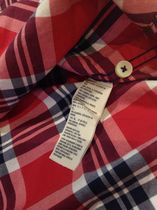 Abercrombie & Fitch Shirts Tartan Other Plaid Patterns Street Style Cotton 4