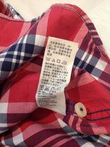 Abercrombie & Fitch Shirts Tartan Other Plaid Patterns Street Style Cotton 5