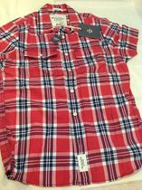 Abercrombie & Fitch Shirts Tartan Other Plaid Patterns Street Style Cotton 6