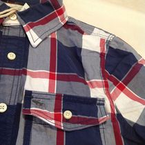 Abercrombie & Fitch Shirts Tartan Other Plaid Patterns Street Style Cotton 8
