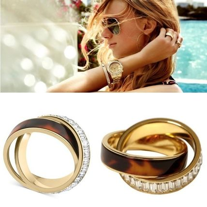 With Jewels Elegant Style Rings