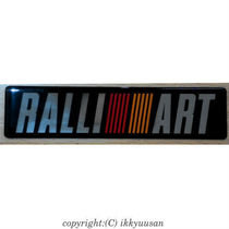 【RALLIIART】 Rally Art 3D Emblem Sticker Thai Limited Model