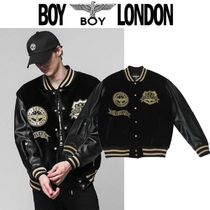 BOY LONDON Star Street Style Other Animal Patterns Varsity Jackets
