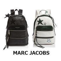 MARC JACOBS Star Casual Style A4 Leather Backpacks