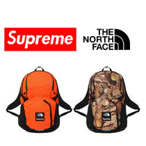 Supreme Unisex Nylon Collaboration Backpacks