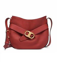 Tory Burch A4 Leather Elegant Style Shoulder Bags