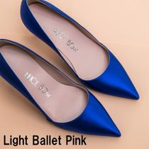 Alice Bow Leather Party Style Shoes