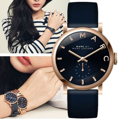 Great navy & rose gold MBM1329