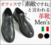Stefano Gamba Wing Tip Leather Oxfords