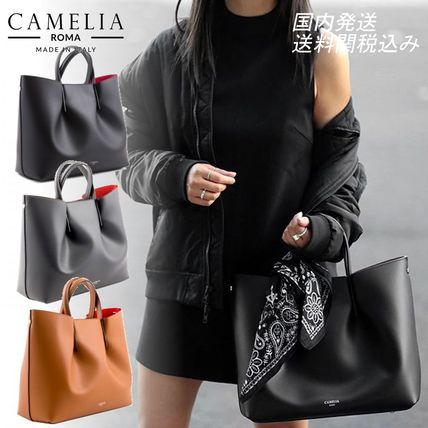 2WAY Leather Handbags