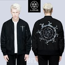 LONG CLOTHING Street Style Collaboration MA-1 Bomber Jackets