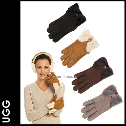 UGG gloves CLASSIC BOW SHORTY