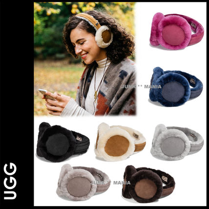 3-7 days arrival / UGG speakers built-in /Earmuff