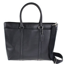 Coach A4 2WAY Plain Leather Totes