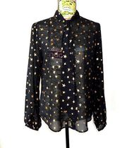 Maison Scotch Star Long Sleeves Elegant Style Shirts & Blouses
