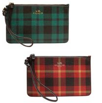 Coach Gingham Leather Smart Phone Cases