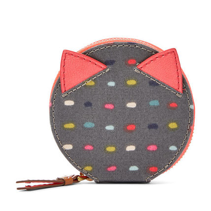 Dots PVC Clothing Coin Purses