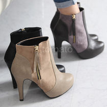 over 10cm Pin Heels Ankle & Booties Boots