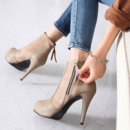 Ankle & Booties over 10cm Pin Heels Ankle & Booties Boots 7