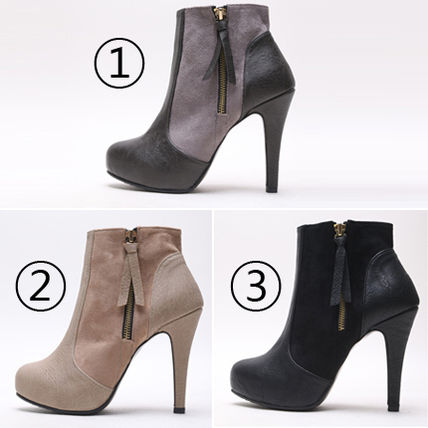 Ankle & Booties over 10cm Pin Heels Ankle & Booties Boots 9