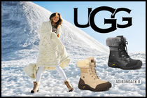 UGG Australia Round Toe Casual Style Fur Boots Boots