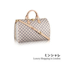 Louis Vuitton DAMIER AZUR SPEEDY BANDOULIÈRE 35[London department store new item]