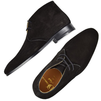 Leather Chukkas Boots