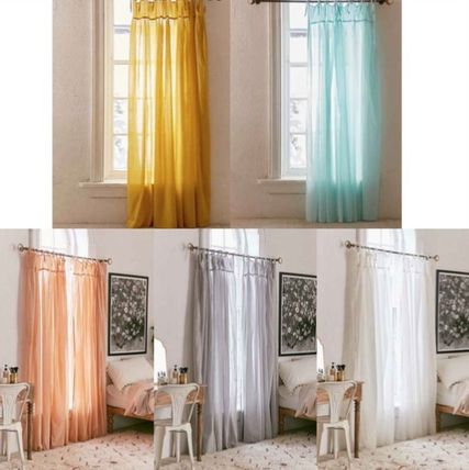 New UO * Voile curtain length 1 or 2 pieces