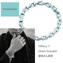 Tiffany & Co Tiffany T Chain Plain Silver Bracelets