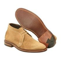 ALDEN LEYDON LAST Suede Plain Shoes