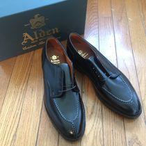 ALDEN ABERDEEN LAST Plain Leather U Tips Oxfords