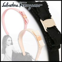 Salvatore Ferragamo Fringes Elegant Style Headbands
