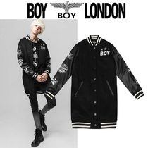 BOY LONDON Star Wool Street Style Other Animal Patterns Long