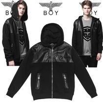 BOY LONDON Faux Fur Studded MA-1 Bomber Jackets