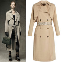 Alexander Wang 16-17 AW AW022 LOOK12 TRENCH COAT WITH EMBELLISHED BELT
