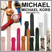 Michael Kors Leather Round Elegant Style Digital Watches
