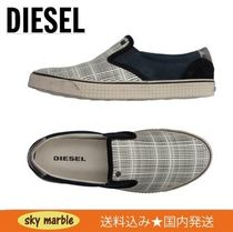 DIESEL Other Check Patterns Loafers & Slip-ons